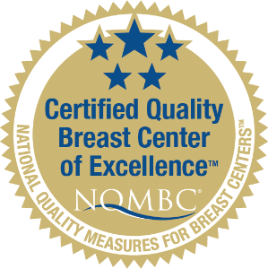 Certified Quality Breast Center of Excellence Award